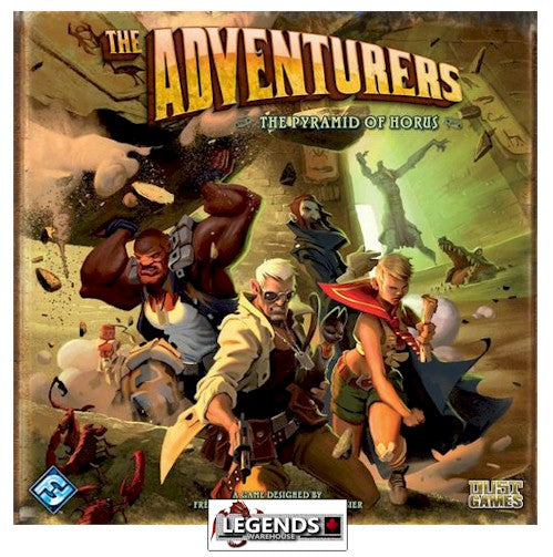 ADVENTURERS :  THE PYRAMID OF HORUS