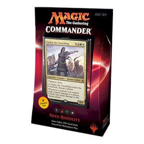 MAGIC COMMANDER - 2016 - OPEN HOSTILITY
