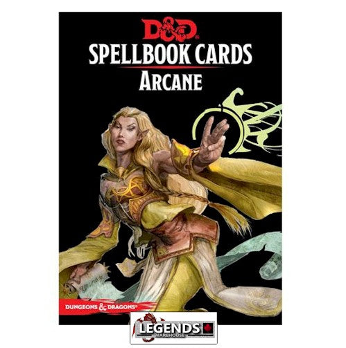 DUNGEONS & DRAGONS - 5th ED RPG - Spellbook Cards - Arcane Deck