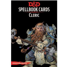 DUNGEONS & DRAGONS - 5th ED RPG - Spellbook Cards - Cleric Deck