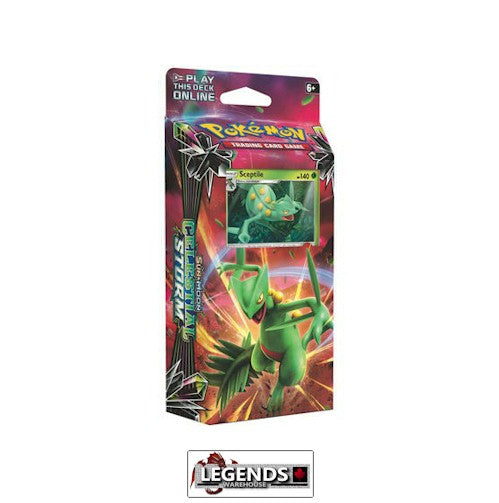 POKEMON - Sun and Moon: CELESTIAL STORM LEAF CHARGE - SCEPTILE THEME DECK