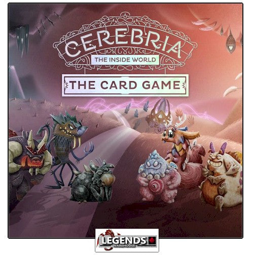 CEREBRIA - THE INSIDE WORLD - THE CARD GAME