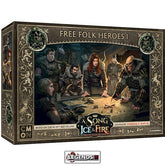 A Song of Ice & Fire: Tabletop Miniatures Game - Free Folk Heroes #1  #CMNSIF409