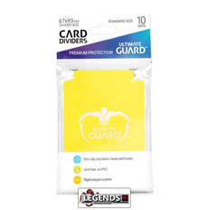 ULTIMATE GUARD - CARD DIVIDER - YELLOW