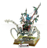 AGE OF SIGMAR - GLOOMSPITE GITZ - GROT - SCUTTLEBOSS ON GIGANTIC SPIDER