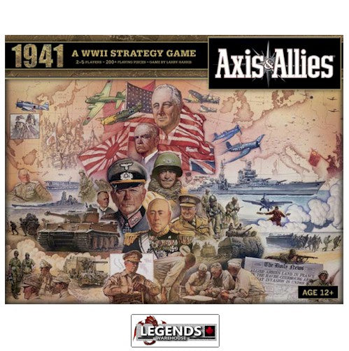 AXIS & ALLIES - 1941 BOARD GAME