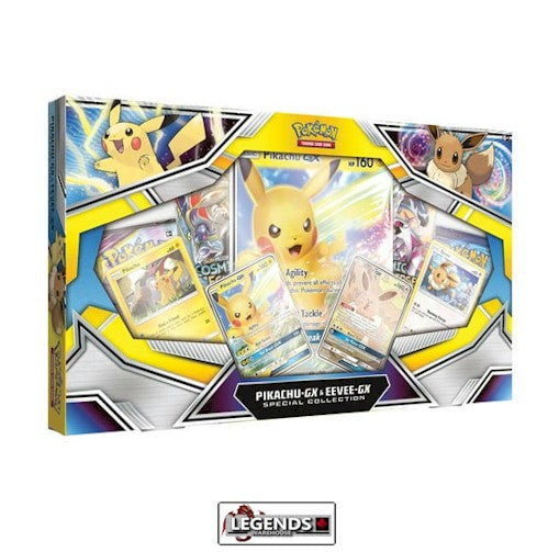 POKEMON - PIKACHU & EEVEE GX SPECIAL COLLECTION BOX