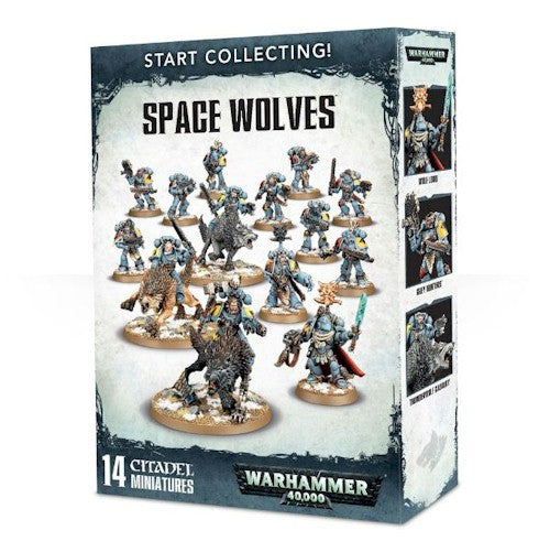 WARHAMMER 40K - START COLLECTING - SPACE WOLVES