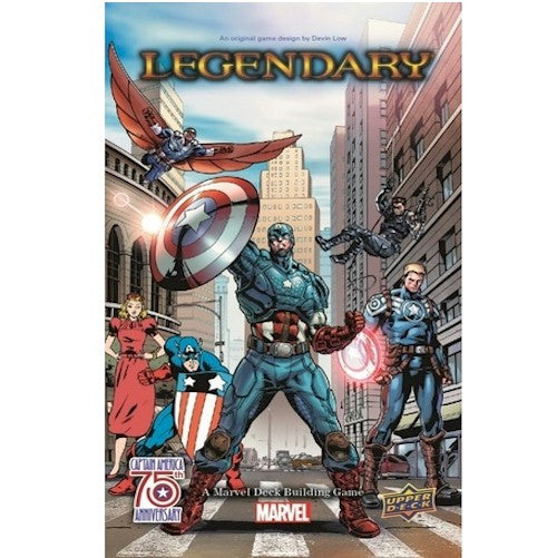 LEGENDARY : A Marvel Deck Building Game - Captain America 75th Anniversary