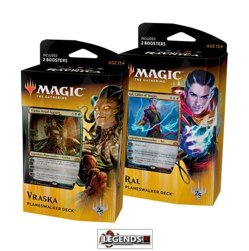 MTG - GUILDS OF RAVNICA - Planeswalker Deck Set (2 Decks)