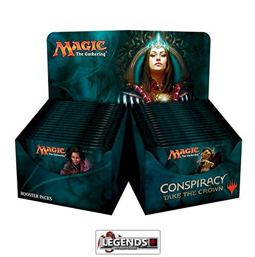MTG - CONSPIRACY ll - TAKE THE CROWN  BOOSTER BOX - ENGLISH