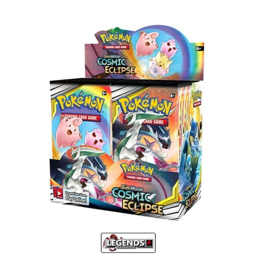 POKEMON SUN AND MOON COSMIC ECLIPSE BOOSTER BOX