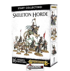 WARHAMMER AGE OF SIGMAR - START COLLECTING - SKELETON HORDE