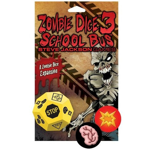 ZOMBIE DICE 3 : School Bus