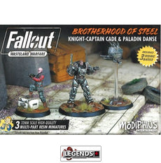 FALLOUT: WASTELAND WARFARE - Brotherhood of Steel Knight-Captain Cade & Paladin Danse