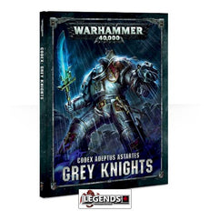 WARHAMMER 40K - CODEX - GREY KNIGHTS