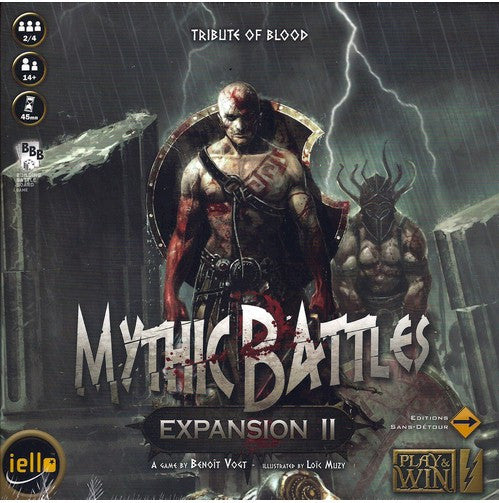 MYTHIC BATTLES - EXPANSION 2 -TRIBUTE OF BLOOD