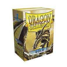 DRAGON SHIELD DECK SLEEVES - Dragon Shield • Classic Gold