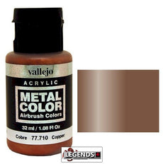 Vallejo Metal Color: Copper    Product #VAL 77710