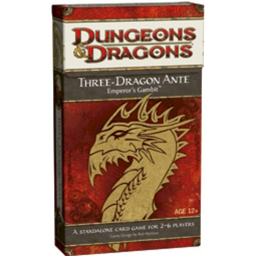 DUNGEONS & DRAGONS - THREE DRAGON ANTE