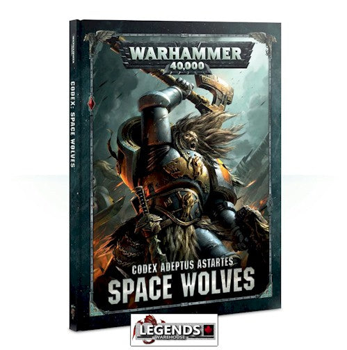 WARHAMMER 40K - CODEX - SPACE WOLVES