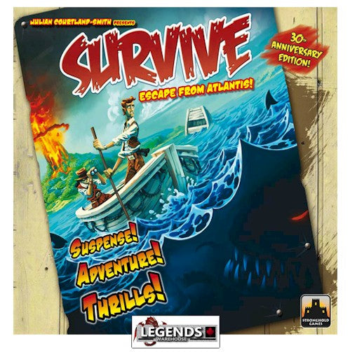 "SURVIVE: ""Escape from Atlantis!""  30TH ANNIVERSARY EDITION"