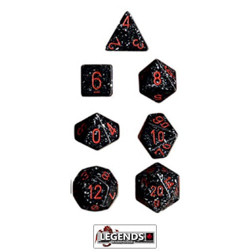 CHESSEX ROLEPLAYING DICE - Speckled Space 7-Dice Set  (CHX 25308)
