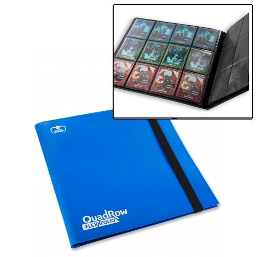 ULTIMATE GUARD - QuadRow FlexXfolio™ - BLUE