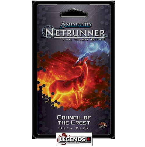 ANDROID NETRUNNER - Council of the Crest Data Pack