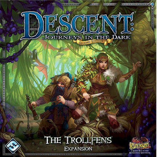 DESCENT 2nd EDITION - The Trollfens