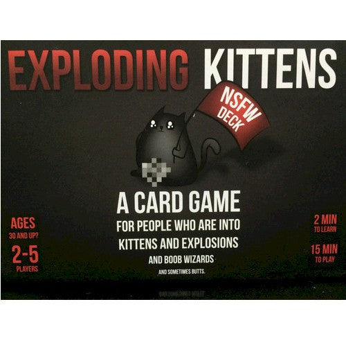 EXPLODING KITTENS - NSFW VERSION