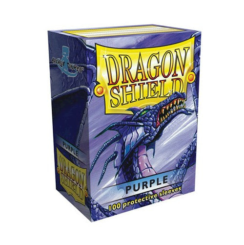 DRAGON SHIELD DECK SLEEVES - Dragon Shield • Purple