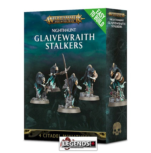 WARHAMMER: AGE OF SIGMAR -Easy to Build Glaivewraith Stalkers