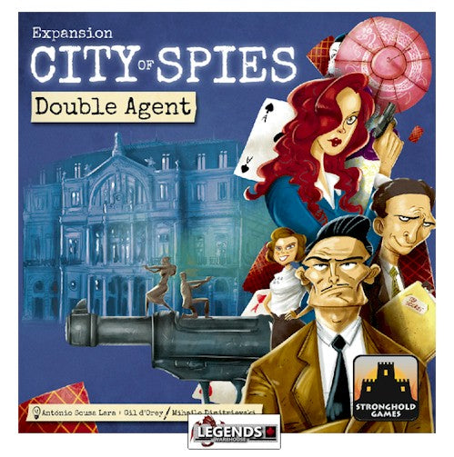 CITY OF SPIES - DOUBLE AGENTS