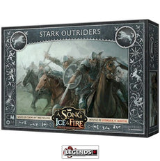 A Song of Ice & Fire: Tabletop Miniatures Game -  Stark Outriders  #CMNSIF102