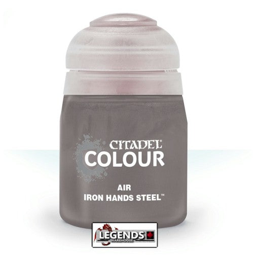 CITADEL - AIR -  Iron Hands Steel - 24ml