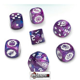 BLOOD BOWL - Dark Elf Team Dice Set