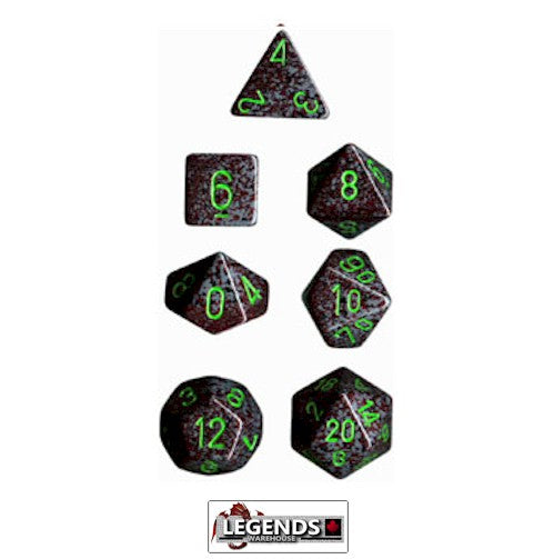 CHESSEX ROLEPLAYING DICE - Speckled Earth 7-Dice Set  (CHX 25310)