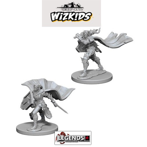 Deep Cuts - Unpainted Miniatures: Elf Female Paladin #WZK72609