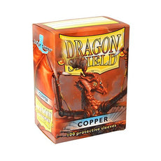 DRAGON SHIELD DECK SLEEVES - Dragon Shield • Copper