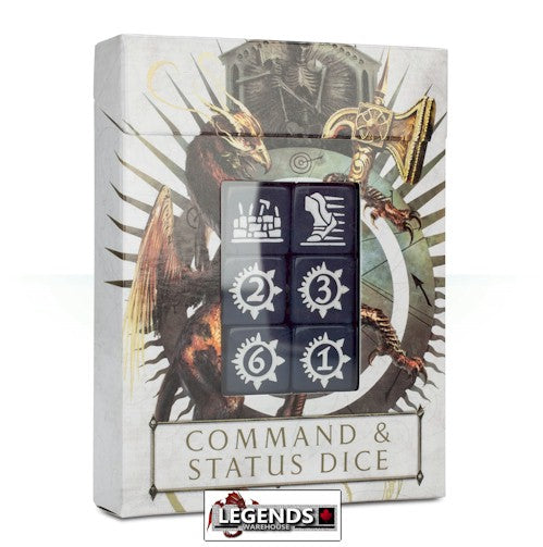 WARHAMMER: AGE OF SIGMAR - COMMAND & STATUS DICE