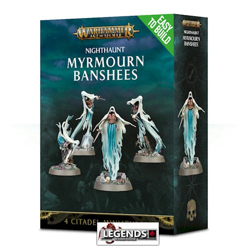 WARHAMMER: AGE OF SIGMAR -Easy to Build Myrmourn Banshees