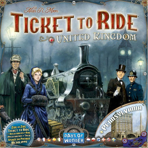 TICKET TO RIDE - Map Collection: Volume 5 – United Kingdom & Pennsylvania