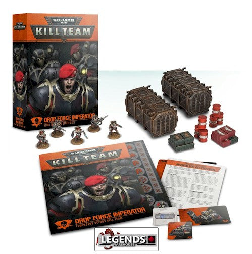 WARHAMMER 40K - KILL TEAM -  Drop Force Imperator Starter Set