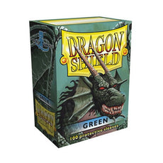 DRAGON SHIELD DECK SLEEVES - Dragon Shield • Green