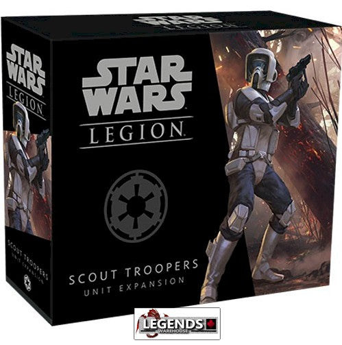 STAR WARS: LEGION - The Miniature Game - IMPERIAL SCOUT TROOPERS UNIT  Expansion