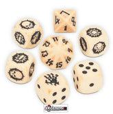 BLOOD BOWL - Shambling Undead Team Dice Set