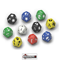 FALLOUT: WASTELAND WARFARE - EXTRA DICE SET