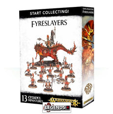 WARHAMMER AGE OF SIGMAR - START COLLECTING - FYRESLAYERS