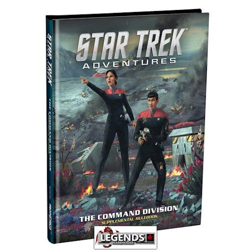 STAR TREK ADVENTURES - RPG  The Command Division - RULEBOOK